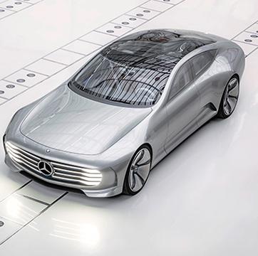 極低風阻轎跑 空力變形概念車 『M-Benz Concept IAA』