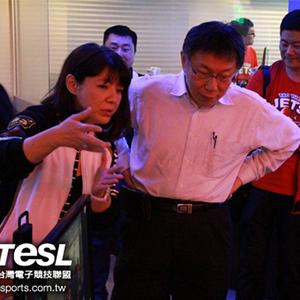 《SF2PL》市長柯文哲現身台北首都隊主場