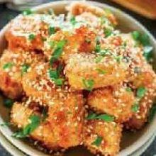 自己在家做美味的酥炸雞塊 少油多健康